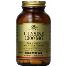 Solgar L-Lysiini 1000mg 100 tablettia