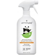 Attitude - Yleispuhdistusaine suihkepullossa 800ml Sitrus