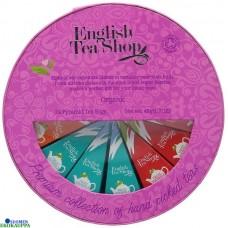 English tea shop pyöreä teelahjapakkaus