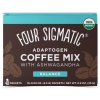 Four Sigmatic - Adoptogeeninen Coffee mix Aswagandalla 10x 2,5g pakt
