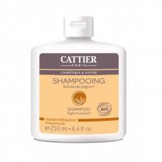 Cattier shampoo youghurt solution päivittäiseen käyttöön 250ml
