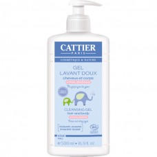 CATTIER BABY - CLEANSING GEL HAIR AND BODY 500ML