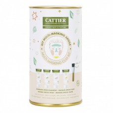 CATTIER MULTI-MASKING CLAY KIT savi lahjapakkaus