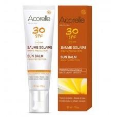 Acorelle SPF 30  Aurinkosuojageeli kasvoille 30ml