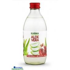Karma luomu Aloe Vera-Juoma Granaattiomena 330ml