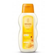 weleda calendula baby oil tuoksuton 200ml
