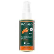 Logona Repair&Care hiusöljy tyrni 75ml hauraalle hiukselle