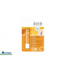 Lavera lip palm spf10 huulivoide aurinkosuojalla