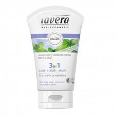 Lavera 3in1 wash scrub mask