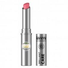 Lavera beautiful lips brilliant care huulipuna 02 Strawberry Pink