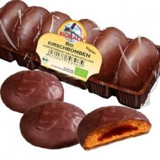 """Bioback perinteinen saksalainen maustekeksi """"lebkuchen"""" kirsikkatäytteellä luomu vegaani 200g"""