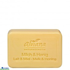 Alviana kasviöljysaippua maito ja hunaja