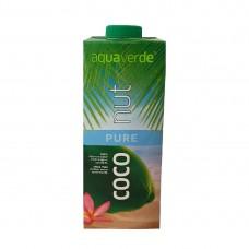 aquaverde pure coconut kookosmehu luomu 1l