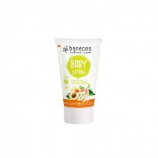 BENECOS NATURAL BODY LOTION MINI APRICOT & ELDERFLOWER 30ML