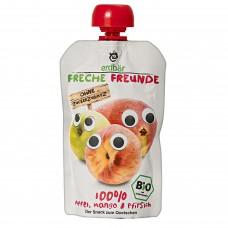 Freche Freunde Mango persikka luomu 100g
