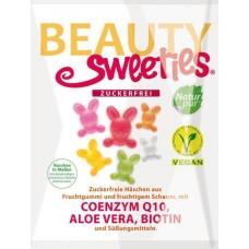Beauty Sweeties hedelmäpuput Q10 + Biotiini sokeriton glut vegaaninen 125g