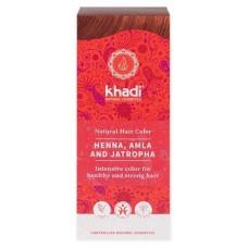Khadi hiusväri henna amla jatropha