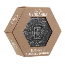 Ben & Anna Puu&Yrtit/Elm wood Suihkusaippua/shampoo 60g