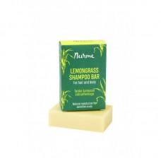 Nurme shampoopala lemongrass 100g kosteuttaa hiuspohjaa