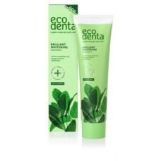 Ecodenta Brilliant Whitening Toothpaste Valkaiseva fluorihammastahna 100ml