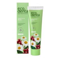 Ecodenta-Sensitivity relief herkkien hampaiden fluorihammastahna