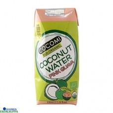 Cocomi Kookosvesi Luomu Guavahedelmällä 330ml ei lisätty sokeria