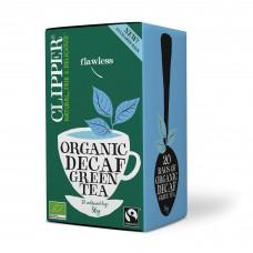 Clipper decaf kofeiiniton vihreä tee luomu 20ps