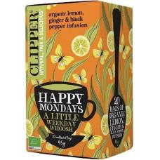 Clipper Happy Mondays yrttitee luomu