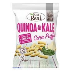 Quinoanaksut Lehtikaali-cheddar 113g vegaaninen gluton Eat Real