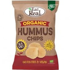 Eat real Hummussipsi sea salt luomu 100g