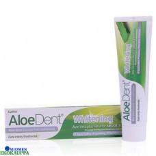Aloe Dent - Valkaiseva fluoriton hammastahna 100ml