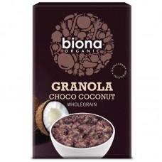 Biona choco coconut suklaa-kookos granola luomu 375g
