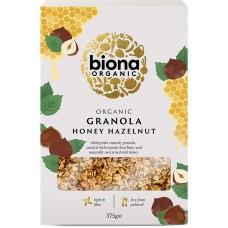Biona granola hunaja-hasselpähkinä