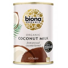 Biona kookosmaito 400 ml, luomu