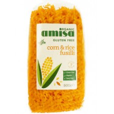Amisa gluteeniton maissi-riisi fusilli 500g