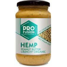 Pro Fusion Hamppu-Maapähkinävoi  Crunchy luomu350g