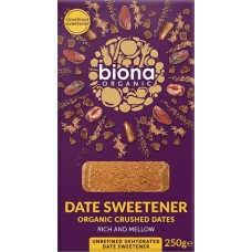 Biona Taatelimakeutusaine, Date Sweetener 250g luomu (norml 6,50)