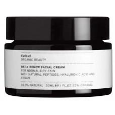 Evolve Uudistava kasvovoide matkakoko hyaluronihapolla 30ml daily renew facial cream
