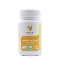 Vitashine Vegan D3 tabletti 2500IU(62,5µg)