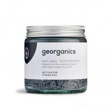 Georganics - Aktiivihiili hammastahna muovittomassa purkissa 60ml