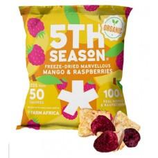5th Season Pakastekuivattu Mango & Vadelma 11g