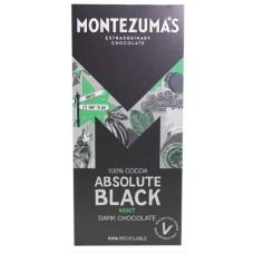 Montezuma's Absolute Black tumma suklaa minttu 90g (norml 3,95€)