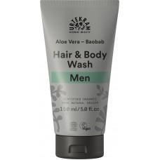 Urtekram men aloe vera & baobab hair & body wash