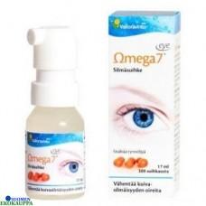 Omega7 eye silmäsuihke kuivasilmäisyyteen (norm.19,90€) päiväys 8/19