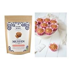 Flow Bake Muffin Mix glutn Kanelimuffinssi-jauhoseos luomu 265g