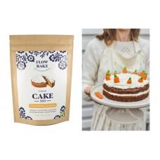 Flow Bake Cake Mix gluteeniton Porkkanakakku-jauhoseos luomu 315g