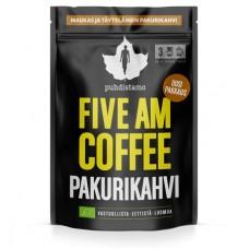 Puhdistamo five am coffee pakurikahvi