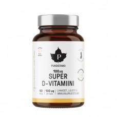 Puhdistamo super D-vitamiini 60 kaps