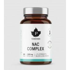 Puhdistamo NAC Complex N-asetyyli L-kysteiini vegaaninen