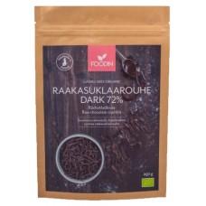 Foodin Raakasuklaa kaakaomassa 72% dark luomu raaka 250g